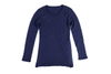 Water Soluble Cashmere Double Layer V Collar Sweater