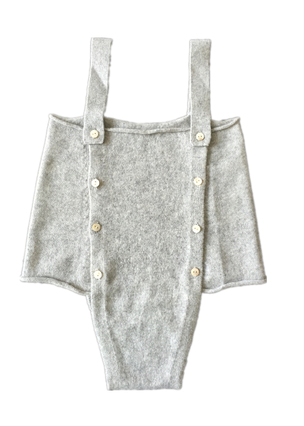 Cashmere Baby Strap Short Rompers for 6 Months Baby