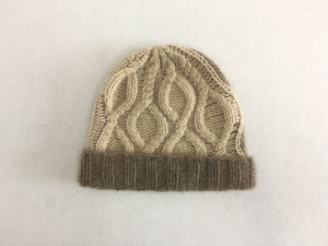 Hand Knitted Cashmere Beanie