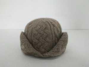 IMfield Natural Series, Hand Knitted Cashmere Cable Beanie