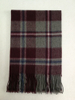 100%Wool Plaid Scarf