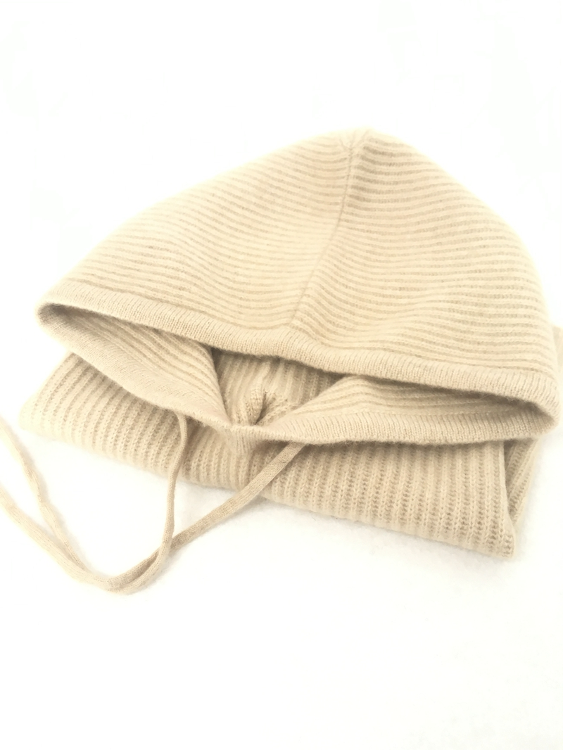 IMfield Natural Series, Neck Warm Knitted Cashmere Hat