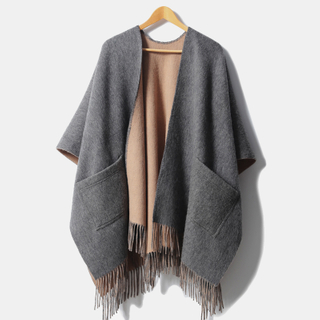 Double Side Cashmere Cape