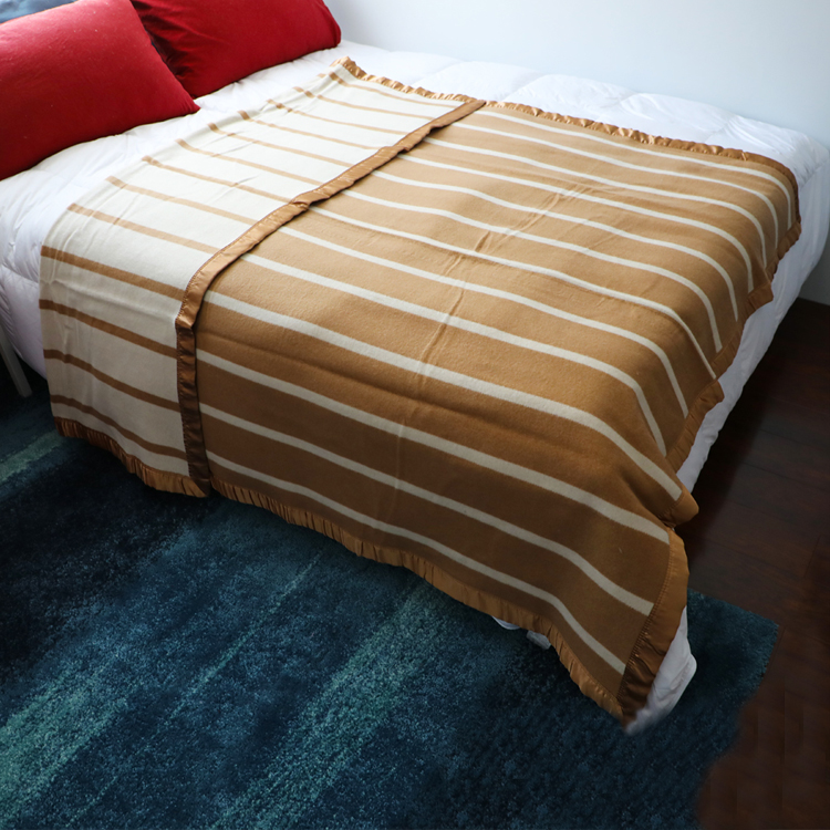 Twin Size Double Side Cashmere Blanket
