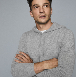 Men Cashmere Hoodies Sweater